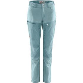 Fjällräven Abisko Midsummer Pantaloni Donna, mineral blue/clay blue